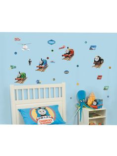 Thomas the Tank Engine No1 Stikarounds Wall Stickers 32 Pieces
