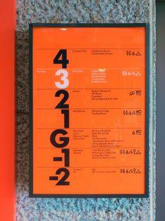 Barbican Arts Centre | Wayfinding & signage | Cartlidge Levene