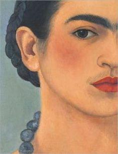 Frida self portrait.