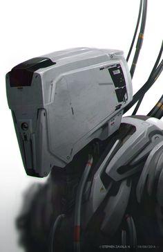 ArtStation - Automaton Maintenance, Stephen Zavala