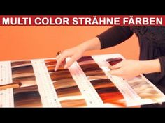 Ombre oder Dip Dye mit 3 Nuance Foliensträhnen umfärbe.