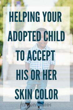 It's not unusual for your adopted child to have questions surrounding the color of his or her skin. As a parent it's vital to hear and acknowledge your child's concerns and questions regarding skin color differences in the family. Click through to read how I've helped my adopted son navigate his own feelings of frustration over the color of his skin.