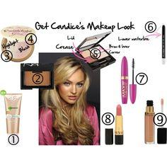 Candice Swanepoel Makeup Look - Polyvore