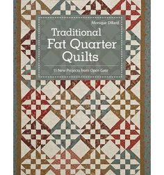 Renowned patternmaker, Monique Dillard, guides readers through quiltmaking basics for 11 fat-quarter quilts with a traditional yet fresh feel. Learn how to use your stash scraps to create interesting interplay, whether you make a lap throw or grace a king-size bed. Reminiscent of Americana, these handsome quilts are comforting and cozy, perfect for everyday enjoyment. Patterns galore at a great va