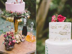 Garden Wedding Inspiration with Antique Details