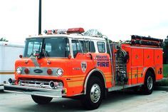 WTFD - Wayne Township Fire Dept, Indianapolis. Ford, marked in this pic as Engine 3.