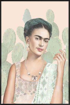 Couture Mexicaine als Poster im Kunststoffrahmen von Nettsch | JUNIQE
