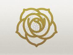 The Venus orbit as a Rose Logo by Ted Casper.
