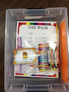 Sugar and Spice: Word Work - Easy Management