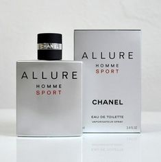 EDT vaporizer spray New in box sealed Chanel Allure Homme Sport, Chanel Men, Perfume Bottles, Fragrance, Place Card Holders, Stuff To Buy, Things To Sell, Shop, Women