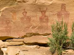 http://theblondecoyote.files.wordpress.com/2012/04/p4111338.jpg Ghosts of Sego Canyon. Note the bullet holes.