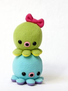baby octopi from cheek and stitch