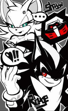 Shadow and Rouge Body swap
