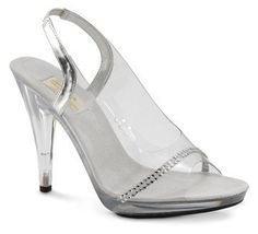 Clear Bridal Shoes