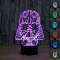 Illuminate any indoor space with the Creative 3D Death Star Shape 7-Color LED Night Light USB Table Desk Lamp Decor! The lamp uses high quality LEDs to produce soft, comfortable yet bright light in seven colors, helping to create a romantic atmosphere. Meanwhile, LED light has low power consumption and long life span. Cool 3Ddeath star design also makes it a great home decor. And it is powered by USB for added convenience. Don′t hesitate to get one!