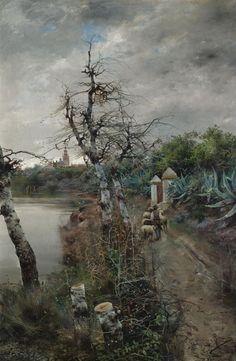 De Camino a Sevilla, Manuel García y Rodríguez