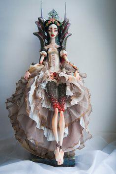 Art doll by Violetta Melnikova