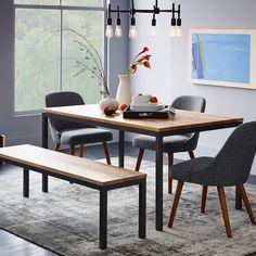 Box Frame Dining Table - Wood | west elm
