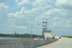 The bridge to Amelia Island, Florida