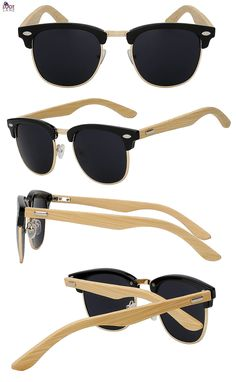 748b42958f1 Clubmaster Wooden Sunglasses Clubmaster Wooden Sunglasses. Loot Lane