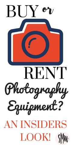 Have you ever considered renting photography equipment? This may be a great option if you are not sure what you like yet! Check out your options for renting and buying camera equipment.