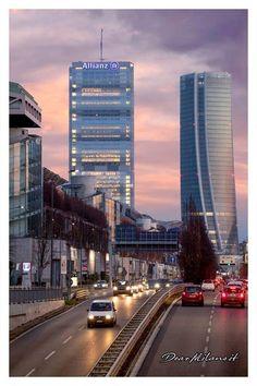 City Life, Bella, Milan, Skyscraper, Colorado, Scenery, Around The Worlds, Country, Big