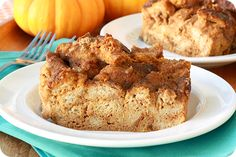 Healthy Pumpkin Recipes: Hungry Girl's Perfect Pumpkin Bread Pudding