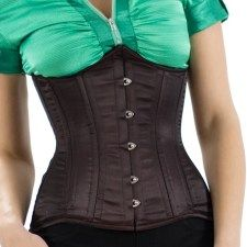 ed71480050a Larger corset sizes available This original underbust corset design by  Orchard Corset has extreme curves to flatter and shape