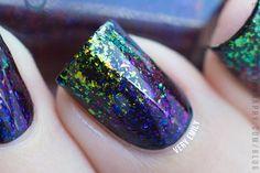 Very Emily » I Love Nail Polish – Ultra Chrome Flakies Part 2