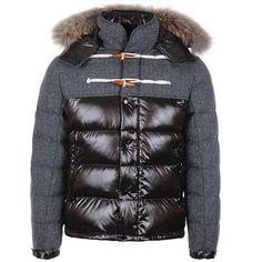 Moncler Men Anthime Single-Breasted Jacket Black