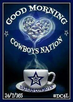 Good morning Dallas Cowboys Fans.