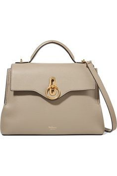 00f1d4e85f Mulberry - Seaton small textured-leather shoulder bag