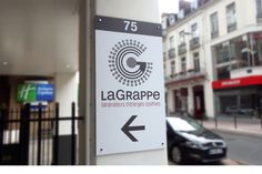 LaGrappe - Signalétique du bâtiment Convenience Store, Packing, Convinience Store, Bag Packaging