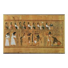 Customizable #13Th #19Th #Amemet #Ancient #Ani #Anubis #British #Coeur #Crt #Dynasty #Egypt #Egyptian #Gods #Hieroglyphics #Hieroglyphs #Judgement #Judges #London #Museum #Painted #Papyrus #Personnages #Pesee #Sites #Thoth The Weighing of Heart against the Feather of Poster available WorldWide on http://bit.ly/2gvTkLC