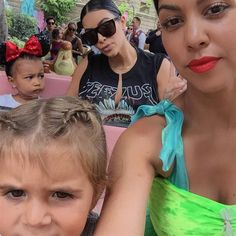 """MVP goes to @kimkardashian for hanging with my crazy Disney obsessed self for 12 hours of major madness. #Disneyland"" --Kourtney Kardashian posted on Instagram on July 9, 2015"
