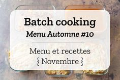 Batch Cooking, Prepping, Dairy, Lunch, Food, Friday, France, Cookies, Food Recipes