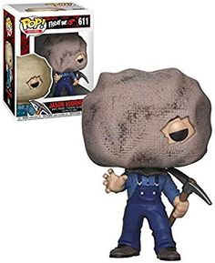 Movies Friday The Jason Voorhees (With Bag Mask) - New, Mint Condition - Funko Horror Pop Vinyl, Funko Pop Horror, Funko Pop Toys, Funko Pop Vinyl, Best Funko Pop, Batman Figures, Action Figures, Funko Figures, I Want