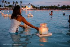 #FloatingLantern Ceremony, Memorial Day, Hawaii, Oahu 2013