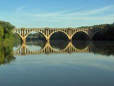 Railroad Bridge over the Rappahannock River, Fredericksburg Virginia