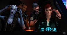 """I Can Do It! by BarbDBarb.deviantart.com on @DeviantArt - Shepard's face is all """"I do what I want."""""""