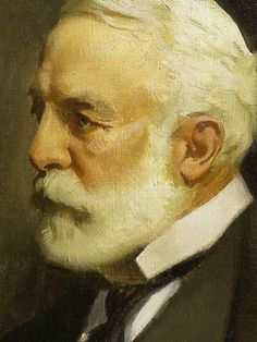 Henry Clay Frick (detail) / John C. Johansen / Oil on canvas, 1943 / The Frick Collection
