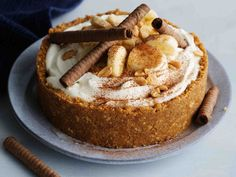 Banoffee Pie, Recipies, Cupcakes, Sweets, Candy, Baking, Desserts, Food, Ideas