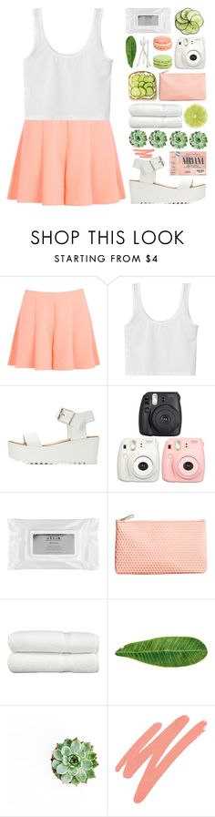 """""""Watermelon"""" by jeune-et-jolie ❤ liked on Polyvore featuring Miss Selfridge, Charlotte Russe, Bobbi Brown Cosmetics, Stila, H&M, Linum Home Textiles, Abyss & Habidecor, NARS Cosmetics, women's clothing and women's fashion"""