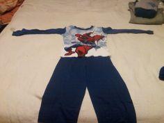 spiderman pajama set $10.00