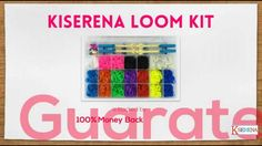 Introducing Kiserena Loom Kit - A complete collection loom bands set with 4000 bands http://www.amazon.com/dp/B00JEPCRYE?m=A1M3OT3SM82YZN