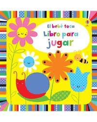 Un alegre libro de vivas cores con texturas diferentes e ranuras que repasar. Punto azul