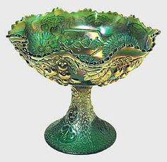 David Doty Carnival Glass ~~The Ultimate Carnival Glass website.  All patterns, all shapes.  This is the expert website for researching carnival glass.