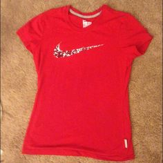 Nike shirt Cotton Nike shirt. Very good condition Nike Tops Tees - Short Sleeve