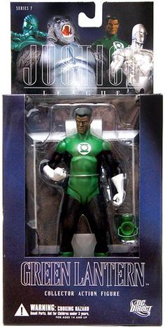 Alex Ross Justice League 7 Green Lantern Action Figure ** Continue to the product at the image link. Ross Toys, Alex Ross, John Stewart, Geek Culture, Dc Universe, Justice League, Dc Comics, Lanterns, Action Figures