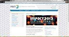 Impact 2013 Venture Summit in Philadelphia on October 22 & 23, 2013.